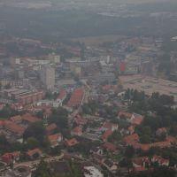 Luftaufnahme | Salzgitter City | Innenstadt | CityCarree | Oskar Kämmer Schule, Salzgitter