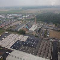 Luftaufnahme   Industriegebiet Salzgitter Engelnstedt   Lichtner-Dyckerhoff Beton Niedersachsen GmbH & Co. KG - Werk Salzgitter, Salzgitter