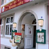 Hotel am Kornmarkt / Wirtshaus Wolpertinger, Bad Kreuznach, April 2009, Бад-Крейцнах