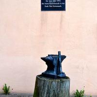 Denkmal für den letzten Hufschmied, Бад-Крейцнах