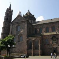 Wormser Dom (Dom St Peter), Worms, Deutschland, Вормс