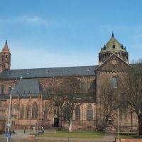 Dom St. Peter zu Worms von der Jugendherberge, Вормс