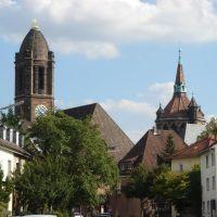 Kirche und Wasserturm, Вормс
