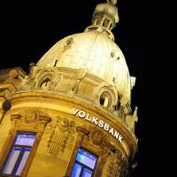 Das Bankenviertel: Volksbank, Кайзерслаутерн