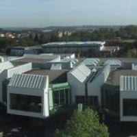 Technische Universität Kaiserslautern, Blick aus Gebäude 42, Кайзерслаутерн