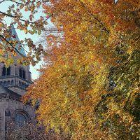 Apostelkirche im Herbst, Кайзерслаутерн