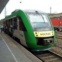 Bahnhof Koblenz: VECTUS- Triebwagen nach Limburg(Lahn), Кобленц