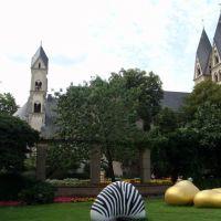 ALEMANIA Iglesia de San Kastor y museo Ludwig, Koblenz, Кобленц