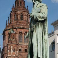 Mainz,Gutenberg und Martinsdom, Майнц
