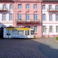 Tram, Schillerplatz, Mainz, Майнц