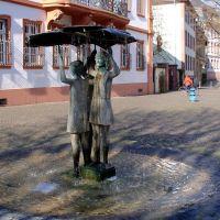 Statue, Ballplatz, Mainz, Майнц