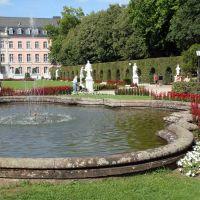 ALEMANIA  Jardines del Palacio del Príncipe Elector, Tréveris, Трир