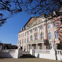 Kurfürstliches Palais - Blick in den Schloßgarten. Trier, Germany., Трир