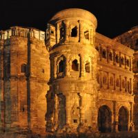 Porta Nigra in the night, Трир