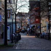 Blick auf den Aachener Weihnachtsmarkt, Аахен