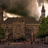Aachener Rathaus - Aquisgrana, Аахен