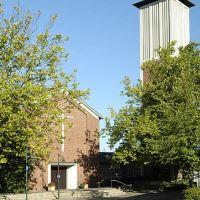 Ahlen, Pauluskirche / evangelische Kirche in der Bismarckstraße, Ален