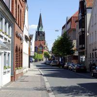 Ahlen - Weststraße stadteinwärts, Ален