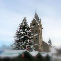 St. Laurentius Kirche in Bergisch Gladbach -Weihnachten 2009, Бергиш-Гладбах