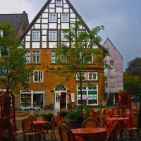 GER Bielefeld Obernstrasse - Klasingstrasse {in the rain} by KWOT, Билефельд