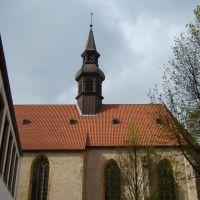 Bielefeld ( St. Jodokus Kirche  ) Obernstraße.  April 2011, Билефельд