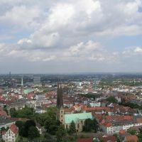 Bielefeld v. Burgturm-Live cam bei panoramablick.com-, Билефельд