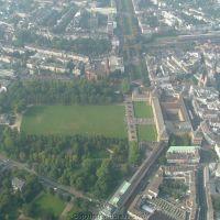 Hofgarten aus Helicopter, Бонн