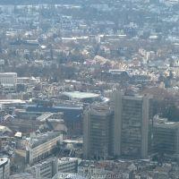Stadthaus aus helicopter, Бонн