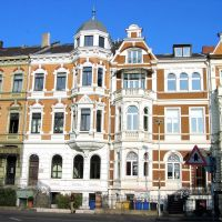 Facade of residence 1900/1920 - Fassade Wohnsitzes 1900/1920 - Façade de demeure 1900/1920, Бонн
