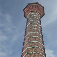 Achteckig der Kamin in Bocholt, Бохольт