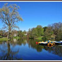 Teich im Stadtpark Bochum (2 bo), Бохум