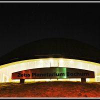 ¤{B} - Zeiss Planetarium Bochum am Abend, Бохум