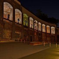╠╦╩╣ Colosseum Bochum Jahrhunderthalle mit Gräsel-Plastiken, Бохум