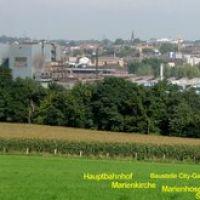 Witten: City-Panorama von Bommern 20.9.2008, Виттен