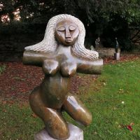 Skulptur im Schlosspark, Виттен