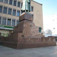 Bismarck mit Bombenschäden, Вупперталь