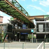 "Wuppertal - Schwebebahn - Station ""Wupperfeld"" (20.06.2007), Вупперталь"