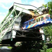 """Wuppertal - Schwebebahn - Station """"Werther Brücke"""" (20.06.2007), Вупперталь"""