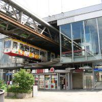 """Wuppertal - Schwebebahn - Station """"Alter Markt"""" (20.06.2007), Вупперталь"""