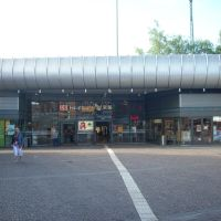 Gelsenkirchen-Altstadt ( Gelsenkirchen Hauptbahnhof  ) Bahnhofsvorplatz.  Juni 2009, Гельзенкирхен