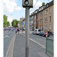 ¤{B} - Blitzer auf der Kurt Schumacher Straße in Gelsenkirchen, Гельзенкирхен