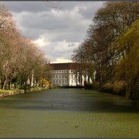 merli: Blick über den Schlossgraben, Детмольд
