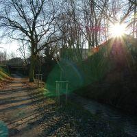 Angerbach - Weg zum Rheinportal, Дойсбург