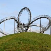 Duisburg:eine neue Landmarke ist auf der Heinrich-Hildebrandt-Höhe entstanden, Дойсбург