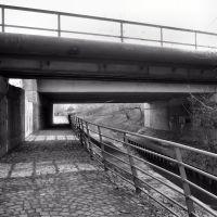 Brücken der Ehinger Str. und der HKM-Anschlußbahn (Duisburg-Wanheim-Angerhausen) / 28.01.2012, Дойсбург
