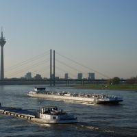 Blick auf den Rhein, Дюссельдорф