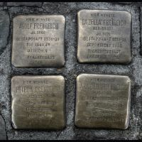 Adolf Freireich, geboren: 23. Februar 1868 in Böszörmény / Ungarn, gestorben: Ende 1941 in Köln, Jüdisches Krankenhaus  - Gisela Freireich, geboren: 21. August 1870 in Samson / Ungarn, gestorben: 29. September 1942 im Ghetto Theresienstadt - Arnold Freire, Золинген