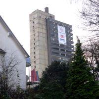 Das ehemalige Turmhotel kurz vor der Sprengung (Solingen) / 18.12.2011, Золинген