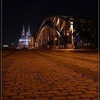 Dom und Hohenzollernbrücke Köln. / Cologne, Кёльн