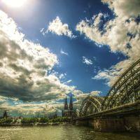 Köln , Dom und Hohenzollernbrücke, Кёльн